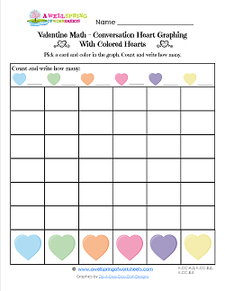 Holiday Worksheets - Valentine\'s Day | A Wellspring of Worksheets