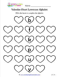 Holiday Worksheets  Valentines Day  A Wellspring of Worksheets