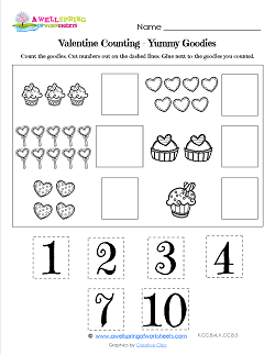 Holiday Worksheets - Valentine's Day | A Wellspring of ...