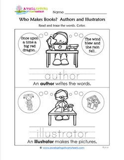 Who Makes Books? Authors and Illustrators