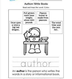 Authors Write Books