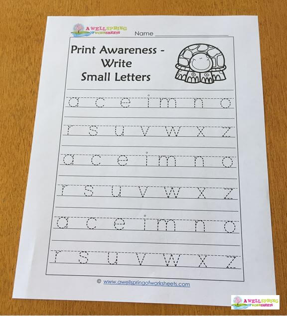 Tall Small And Fall Letters A Wellspring Of Worksheets
