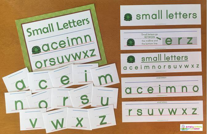 Small Letters Come in Green
