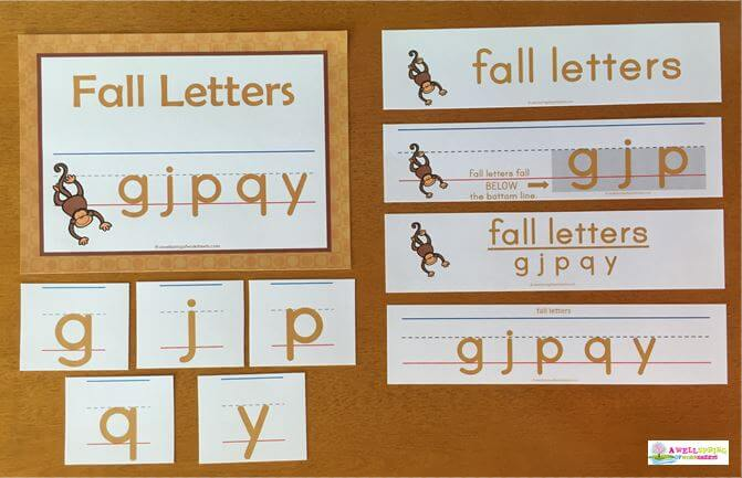 Fall Letters Come in Gold