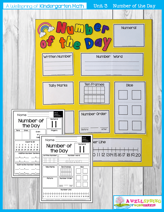Kindergarten Math Curriculum | Numbers 11-20 | Number of the Day