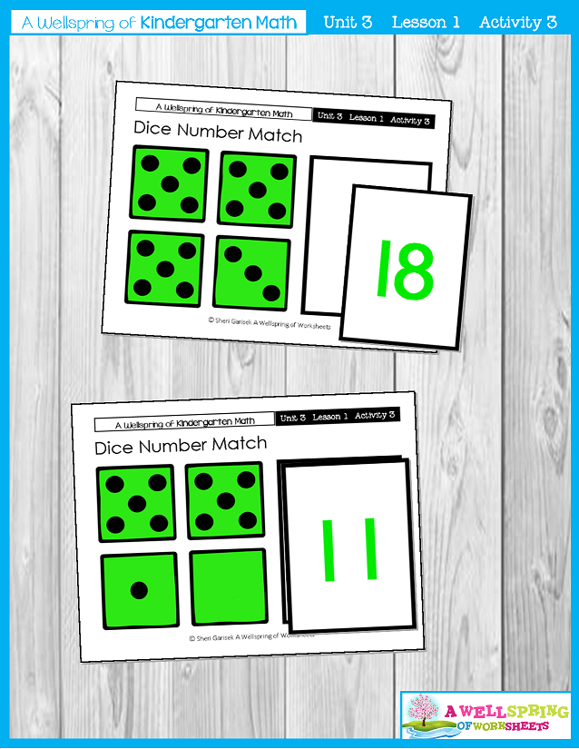 Kindergarten Math Curriculum | Numbers 11-20 | Lesson 1 - Activity 3