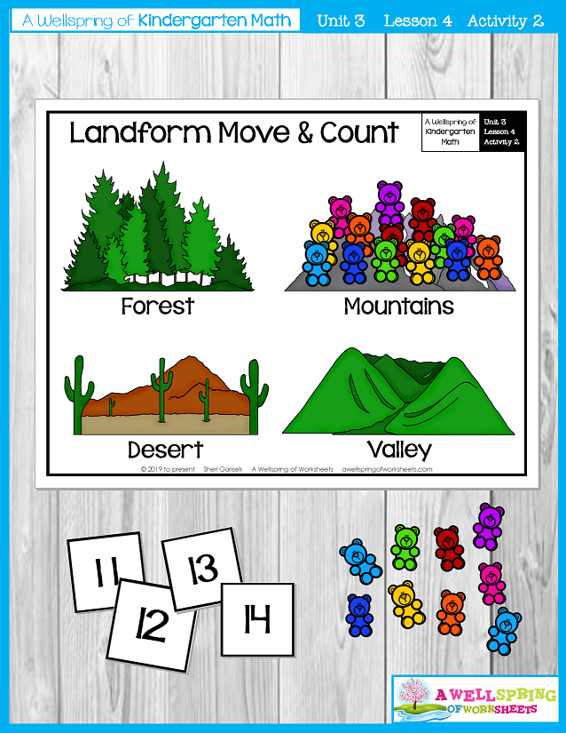 Kindergarten Math Curriculum | Numbers 11-20 | Lesson 4 - Activity 2