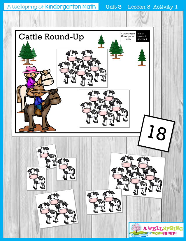 Kindergarten Math Curriculum | Numbers 11-20 | Lesson 8 - Activity 1