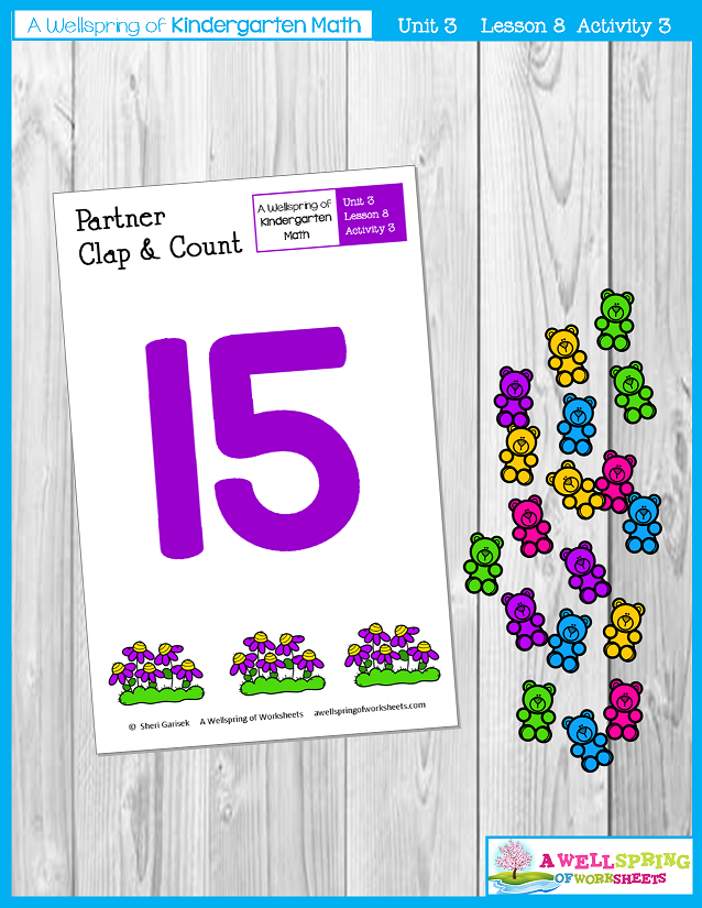 Kindergarten Math Curriculum | Numbers 11-20 | Lesson 8 - Activity 3