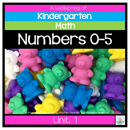 Kindergarten Math Curriculum | Numbers 0-5 | Unit 1