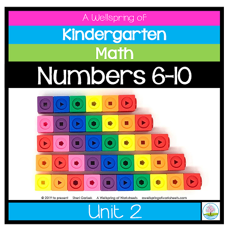 Kindergarten Math Curriculum | Numbers 6-10 | Unit 2