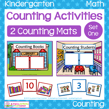 Counting Activities - Counting Mats - Set One