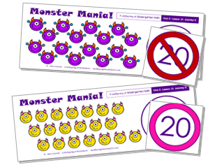 Kindergarten Math Curriculum | Numbers 11-20 | Unit 3