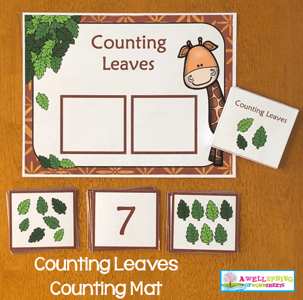 Counting Activities | Counting Mats | Set Three