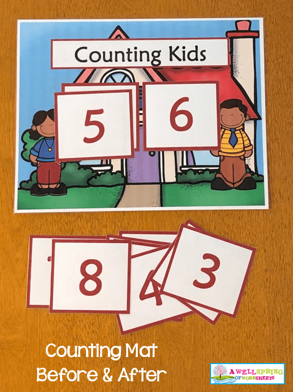 Counting Activities | Counting Mats | Before