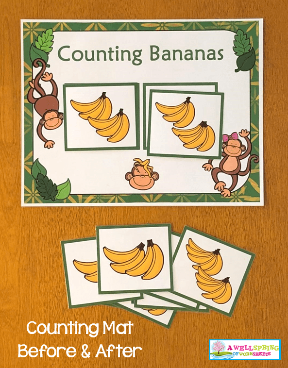 Counting Activities | Counting Mats | After