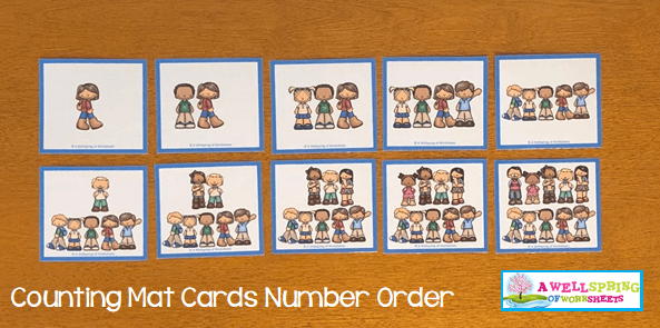 Counting Activities | Counting Mats | Number Order
