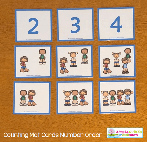 Counting Activities | Counting Mats | The Big Match Up