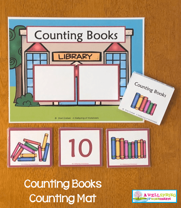 Counting Activities | Counting Mats | Set One