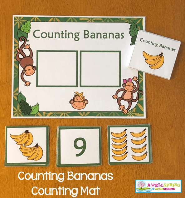 Counting Activities | Counting Mats | Set Two