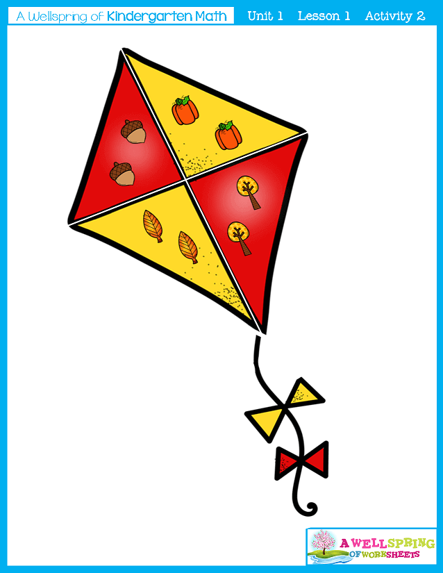 Kindergarten Math Curriculum | Numbers 0-5 | Lesson 1 - Activity 2