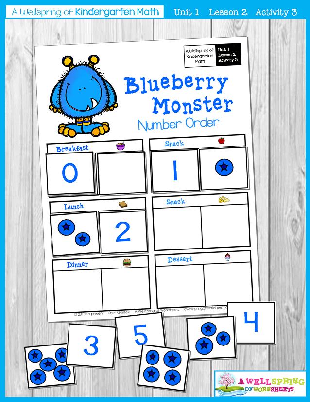 Kindergarten Math Curriculum | Numbers 0-5 | Lesson 2 - Activity 3