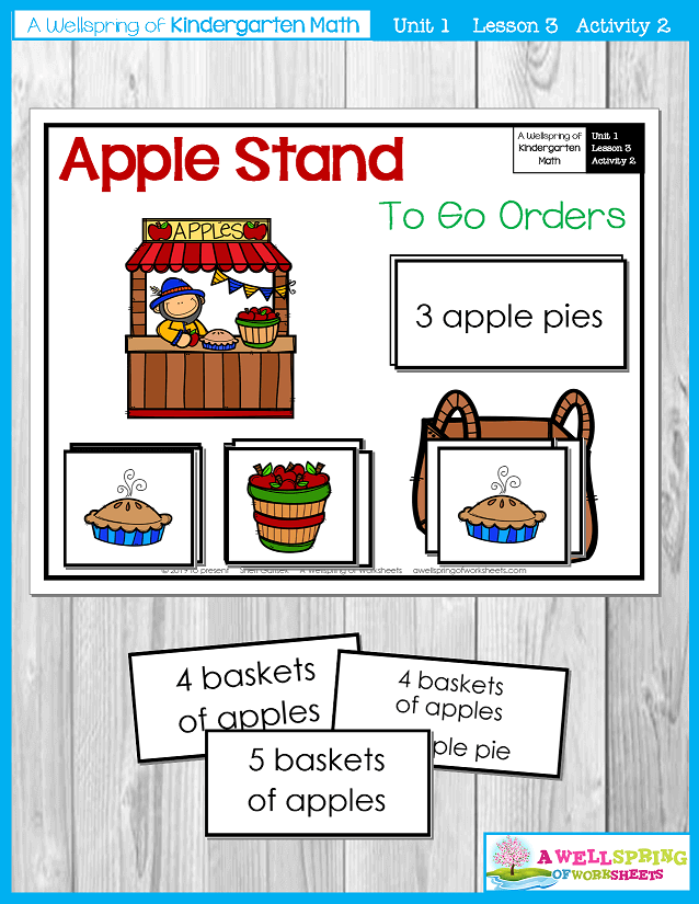 Kindergarten Math Curriculum | Numbers 0-5 | Lesson 3 - Activity 2