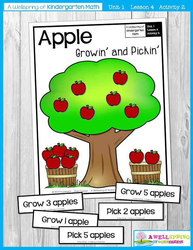 Kindergarten Math Curriculum | Numbers 0-5 | Lesson 4 - Activity 2