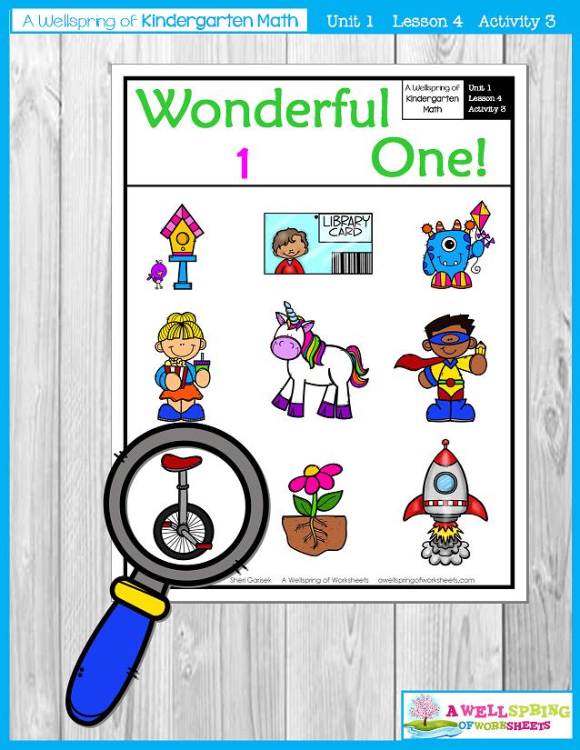 Kindergarten Math Curriculum | Numbers 0-5 | Lesson 4 - Activity 3
