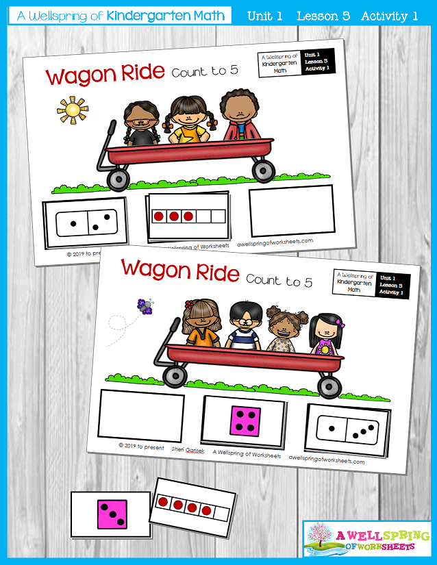 Kindergarten Math Curriculum | Numbers 0-5 | Lesson 5 - Activity 1