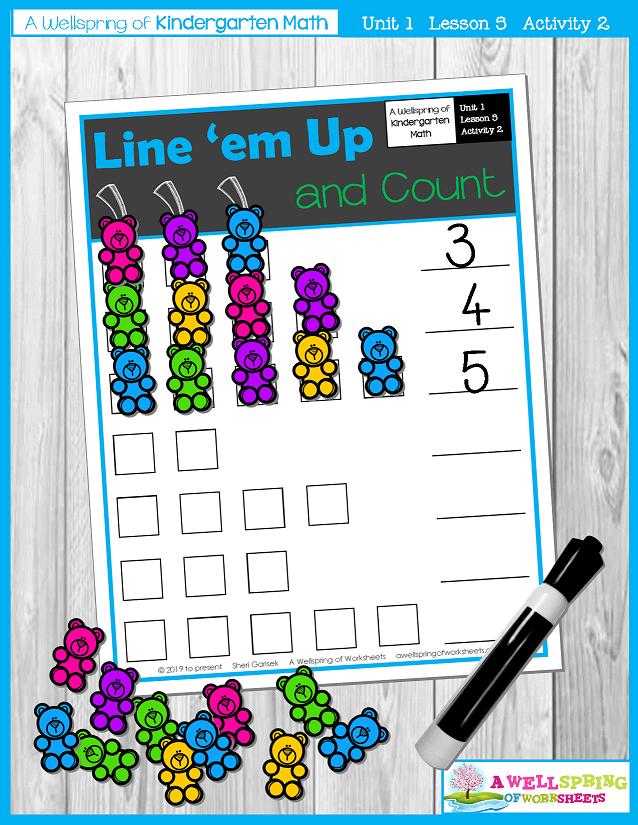 Kindergarten Math Curriculum | Numbers 0-5 | Lesson 5 - Activity 2