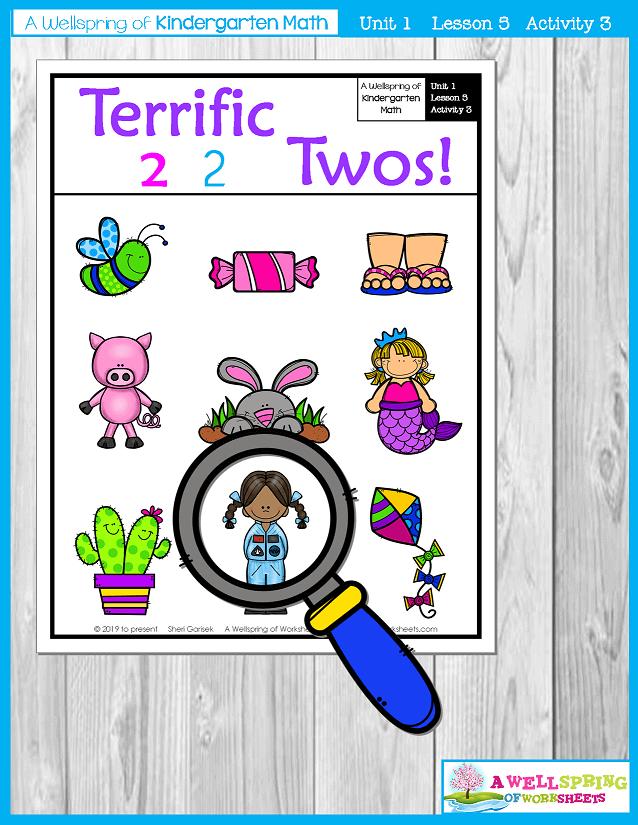 Kindergarten Math Curriculum | Numbers 0-5 | Lesson 5 - Activity 3