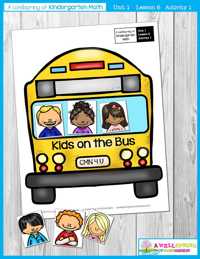 Kindergarten Math Curriculum | Numbers 0-5 | Lesson 6 - Activity 1