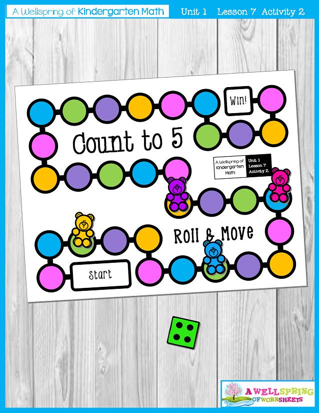 Kindergarten Math Curriculum | Numbers 0-5 | Lesson 7 - Activity 2
