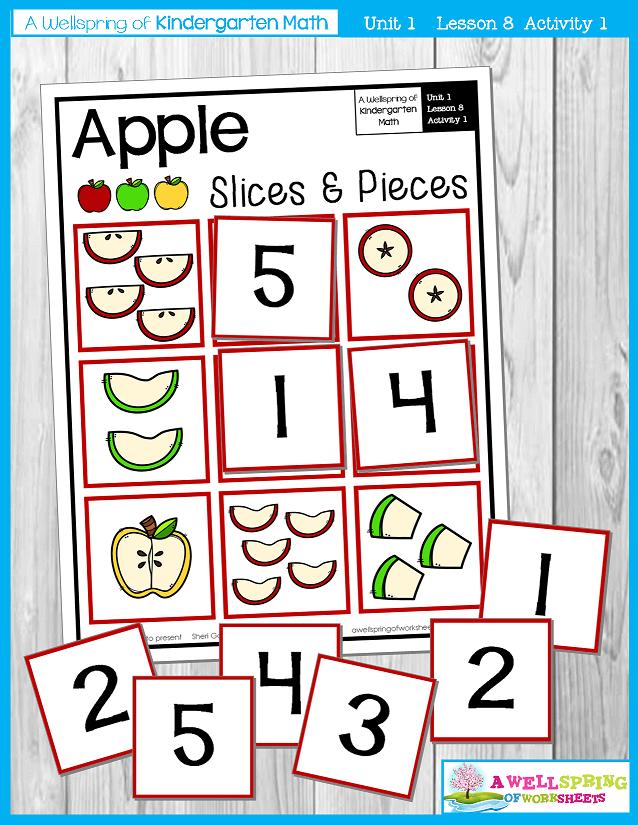 Kindergarten Math Curriculum | Numbers 0-5 | Lesson 8 - Activity 1