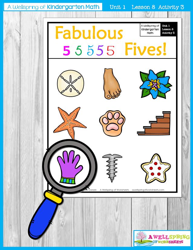 Kindergarten Math Curriculum | Numbers 0-5 | Lesson 8 - Activity 3