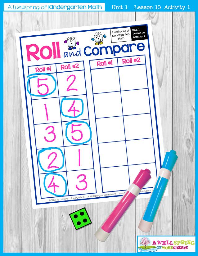 Kindergarten Math Curriculum | Numbers 0-5 | Lesson 10 - Activity 1